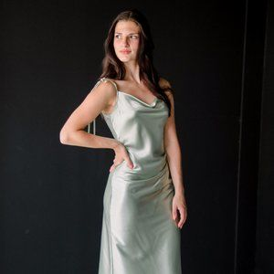 Sage/ Soft Green Bridesmaid/Occasion Dress